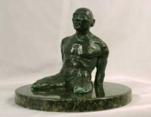 L' Uomo Dell' Acqua, a bronze sculpture