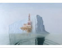 offshore iceberg - 36 x 54 - limited edition print
