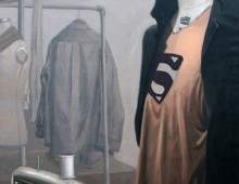 superman – oil on linen – 30 x 48 inch