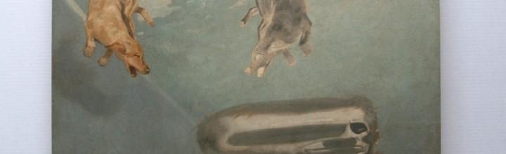Online Art Raffle for this original Aleksander Balos painting