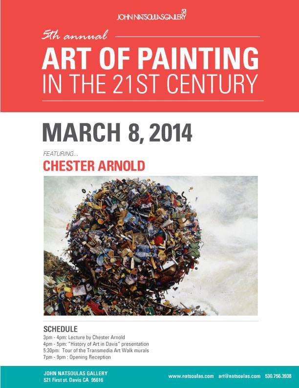 5th Annual Art of Painting in the 21st Century, John Natsoulas
