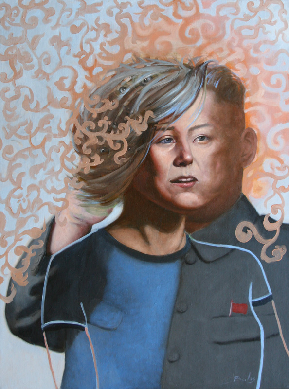 kim jong-un is a gentle woman - oil